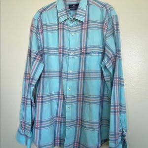 Vineyard Vines Mens Sz L Slim Fit Crosby Shirt
